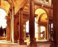 Reproductions of John Singer Sargenti's art A Study of Architec
