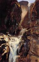 Reproductions of John Singer Sargenti's art A Waterfall 1910