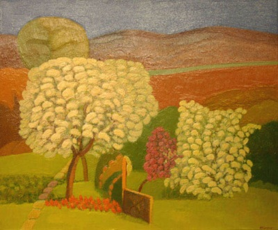 Reproductions of KapakaweB's fine art for sale,Flowering trees