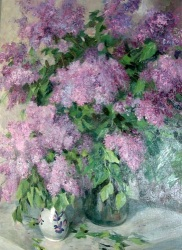 Reproductions of KapakaweB's painting art for sale,Lush Lilac