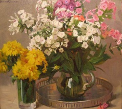Reproductions of KapakaweB's oil paintings for sale,Phlox