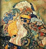 Gustav Klimt Paintings Artwork Baby 1917-18