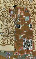 Gustav Klimt Paintings Artwork Fulfillment 1905-09