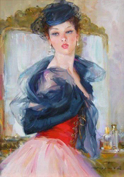 Konstantin Razumov painting reproductions on canvas