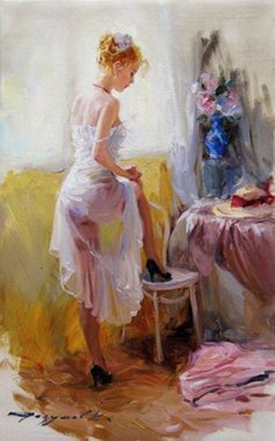 Reproduction oil painting artwork Konstantin Razumov paintiings