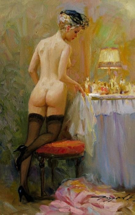 Reproduction Konstantin Razumov art no framed or framed painting