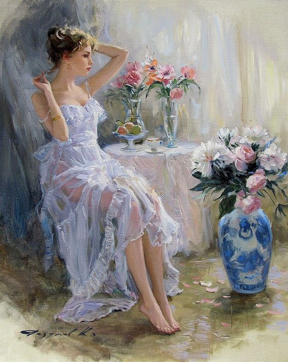 Konstantin Razumov paintings artwork reproductions on canvas
