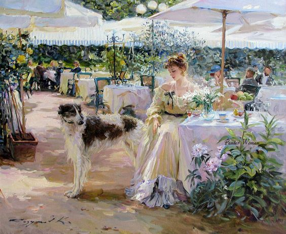 Konstantin Razumov painting reproductions of paintings on canvas