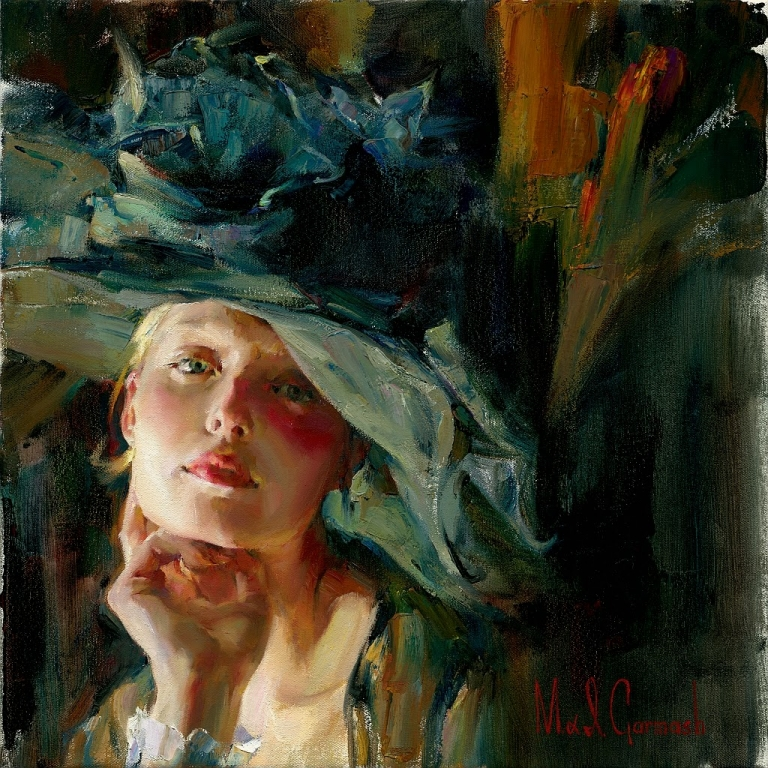 Michael And Inessa Garmash Captivating, reproduction painting