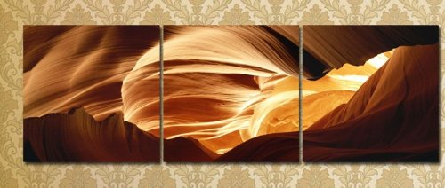 Modern Abstract oil painting wall decals 3 pcs