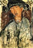Reproduction of Chaim Soutine 1917