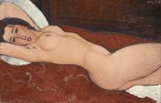 Amedeo Modigliani Reclining Nude, 1917, in The Metropolitan
