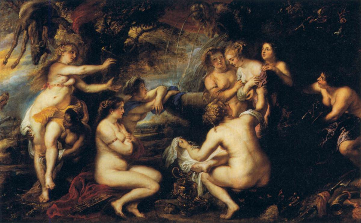 Peter Paul Rubens -Diana and Callisto, 1639, Museo del Prado
