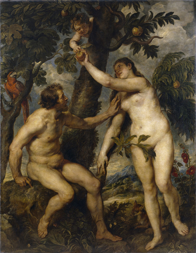 Peter Paul Rubens - The Fall of Man 1628–29. Prado, Madrid