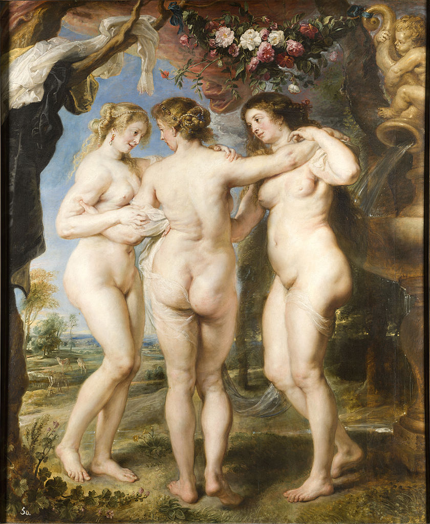 Peter Paul Rubens - The Three Graces, 1635