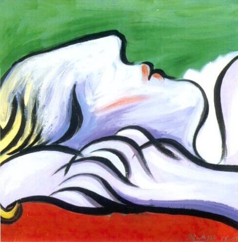 Reproduction oil paintings Asleep, 1932 by Pablo Picasso
