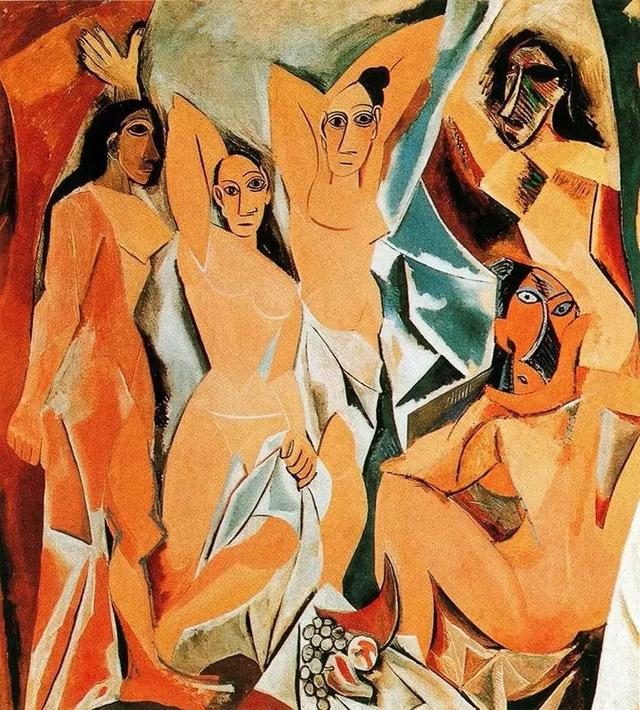 Reproduction Les Demoiselles d'Avignon, 1907 by Pablo Picasso