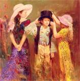 Reproductions of Pino style Little impression art for sale