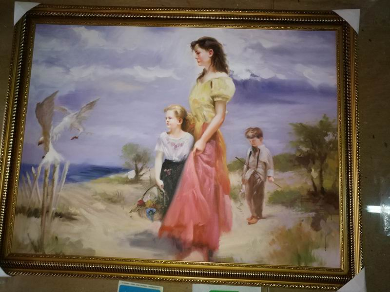 "36x24""Framed painting reproductions Pino Daeni Birds of Paradise"