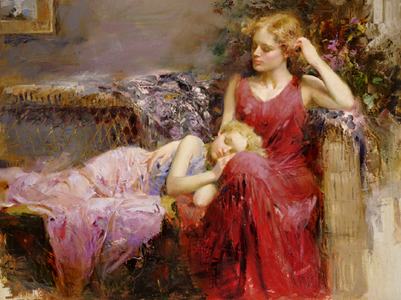 Pino daeni A Mother's Love reproductions of paintings