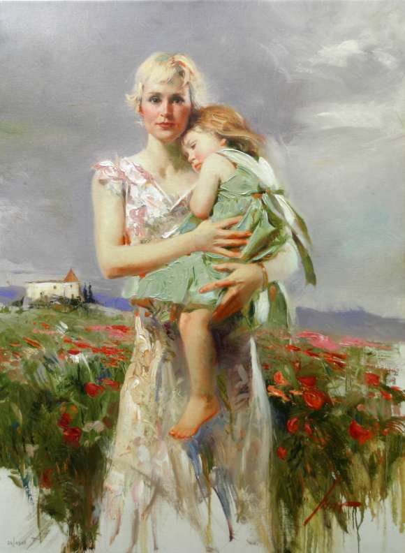 Pino Daeni Angel From Above reproductions of paintings on canvas
