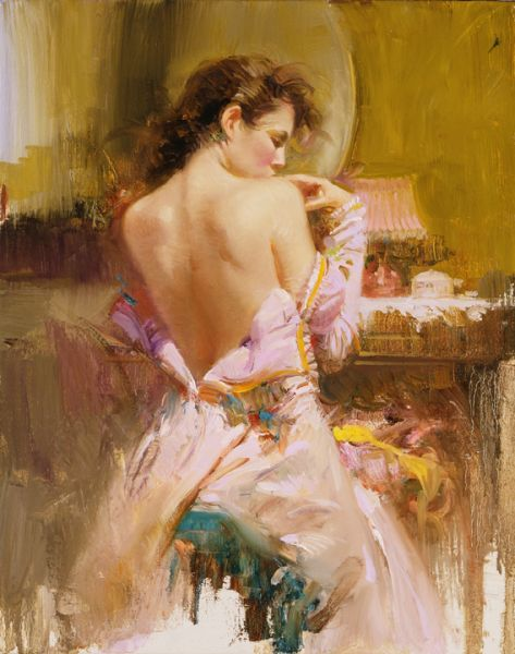 Pino daeni artwork Ballgown reproductions paintings on canvas