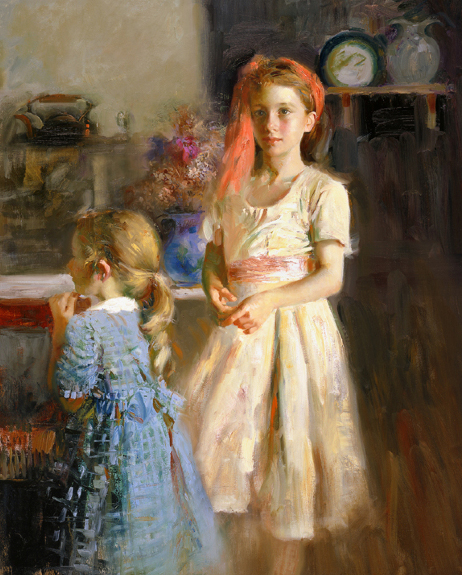 Pino daeni paintings Best Friends reproduction of paintings