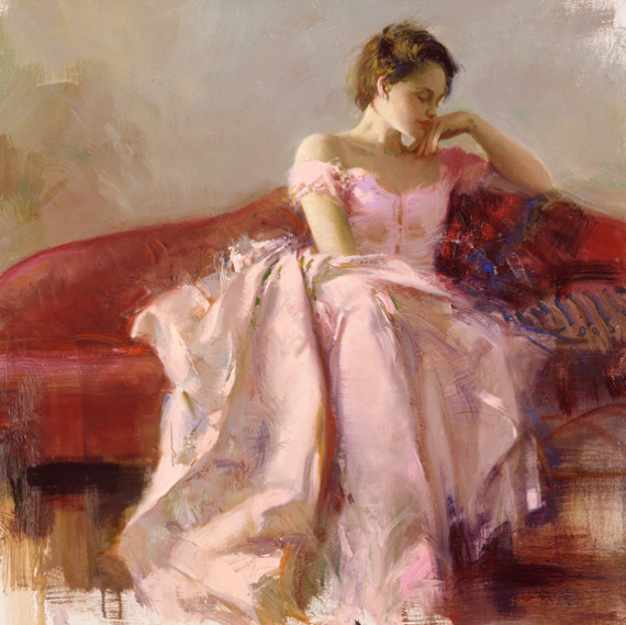 Pino daeni paintings Evening reproductions paintings on canvas
