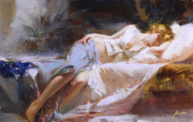 Pino daeni paintings Lost in Dreams reproductions on canvas