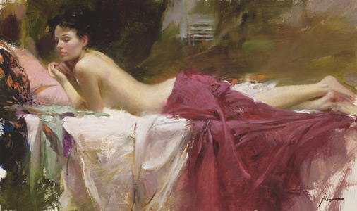 Pino daeni paintings Love Notes reproduction paintings on canvas