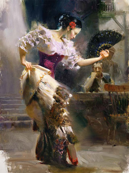 Pino Daeni paintings Dancer Reproductions of paintings