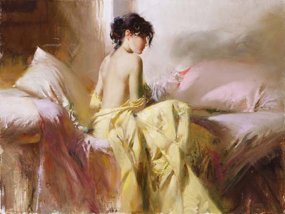 Pino daeni paintings Royal Beauty reproductions on canvas