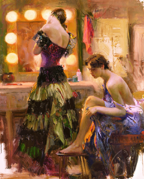 Pino daeni paintings Almost Ready reproduction of paintings