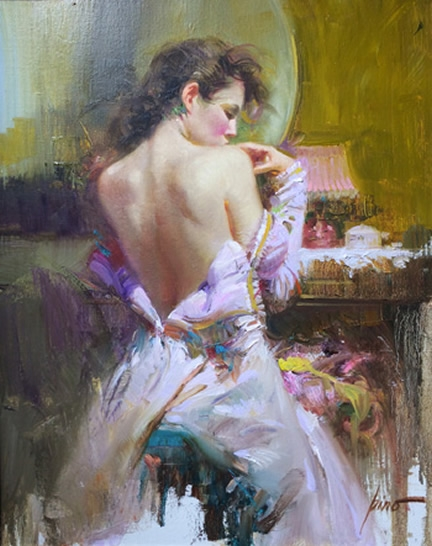 Pino daeni paintings Ballgown reproductions paintings on canvas