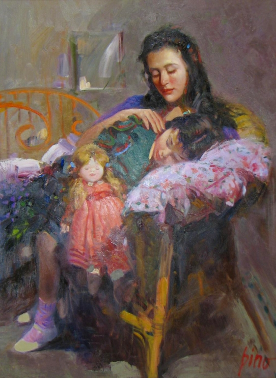 Pino daeni paintings Cherished Moment reproduction of paintings