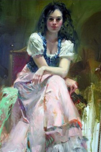 Pino daeni paintings Dreaming Madrid reproductions on canvas