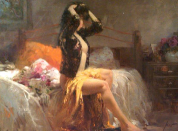 Pino daeni paintings Quiet Reflections reproductions on canvas