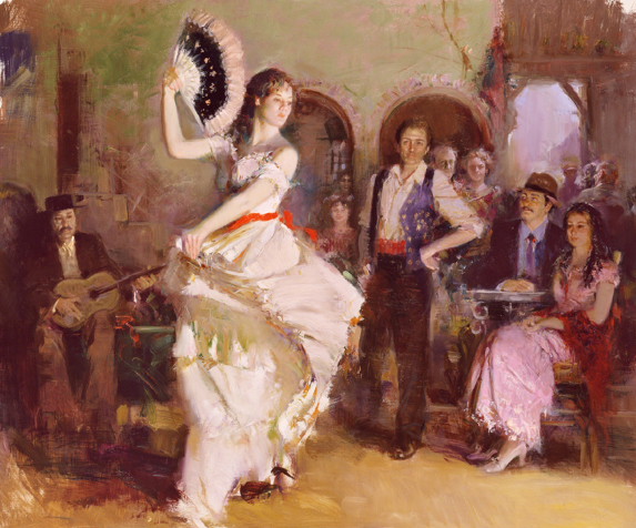 Pino daeni The Last Dance reproductions of paintings