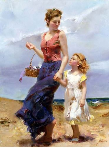 Pino Daeni oil paintings Affection Reproductions of paintings