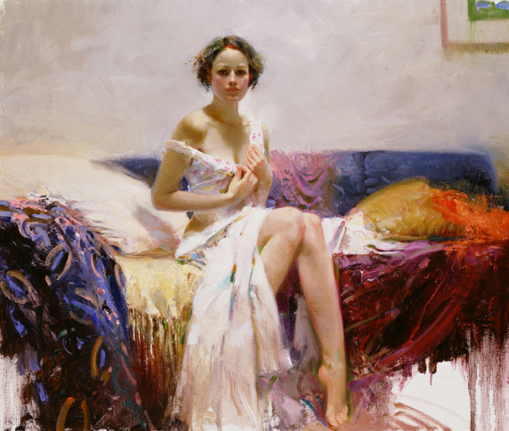Pino daeni paintings Sweet Sensations reproduction on canvas
