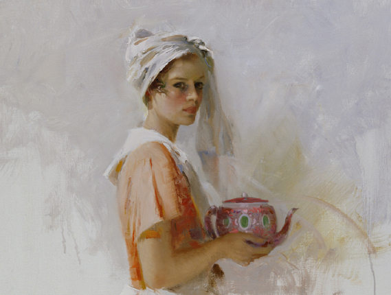 Pino daeni paintinigs The Gift reproductions of paintings