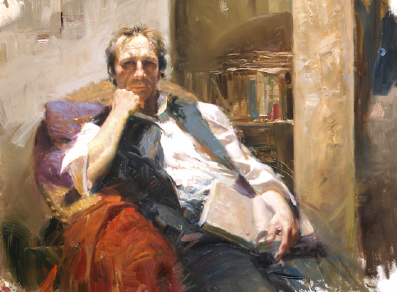 Pino daeni paintings The Professor reproduction of paintings