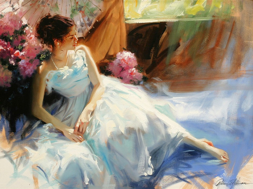 Reproductions of Pino Daeni paintings artwork