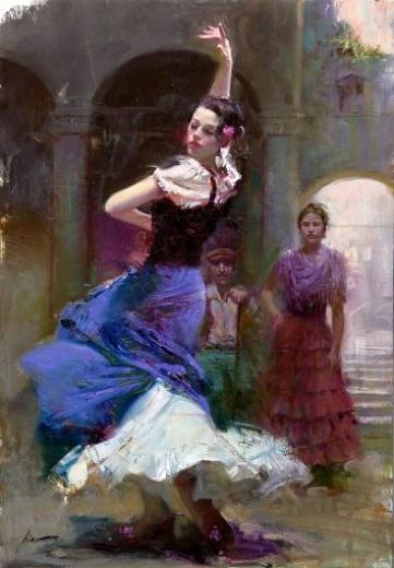 Reproduction Pino Daeni sonado oil painting on canvas