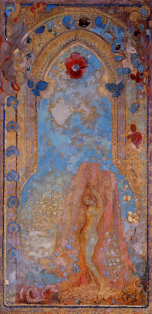 Reproductions of Odilon Redon's art Andromeda