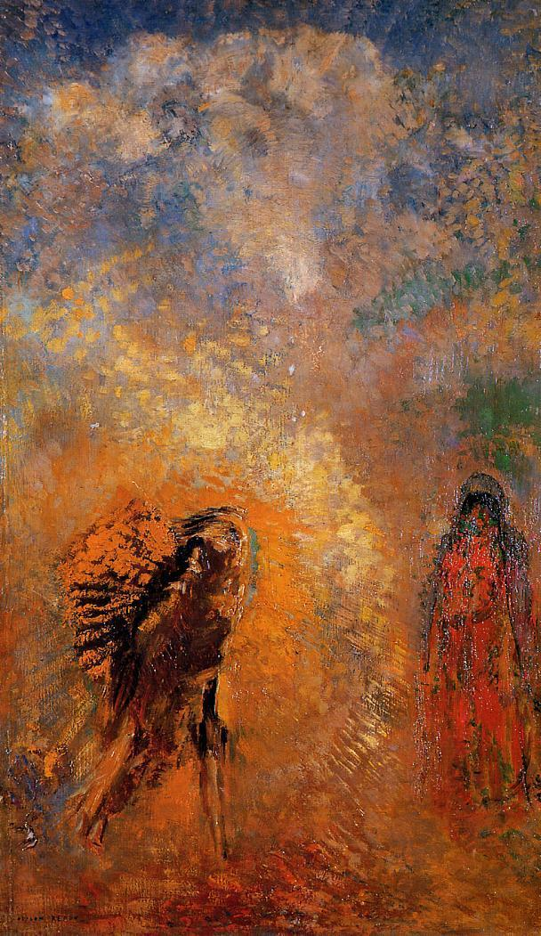 Reproductions of Odilon Redon's art The Apparition