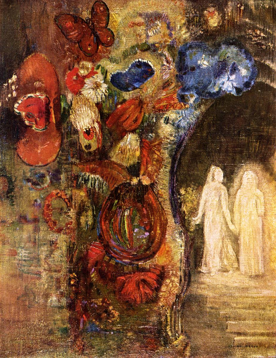 Reproductions of Odilon Redon's art Apparition