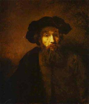 Reproduction of A Bearded Man In A Beret 1657