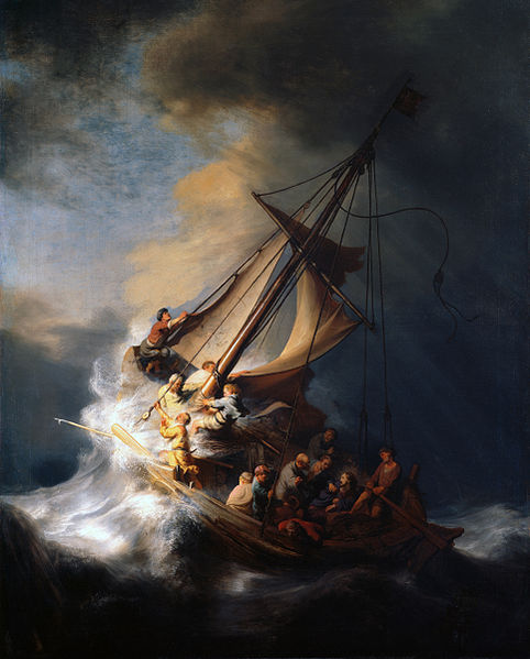 Reproduction of Rembrandt art - The Storm on the Sea of Galilee
