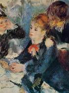 Reproduction of Pierre-Auguste Renoir art A the Milliners 1876